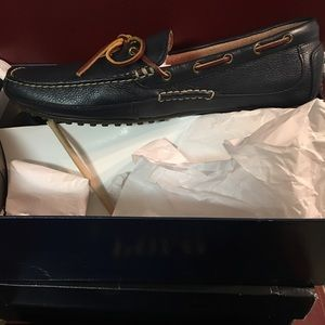 New Ralph Lauren Polo leather loafer